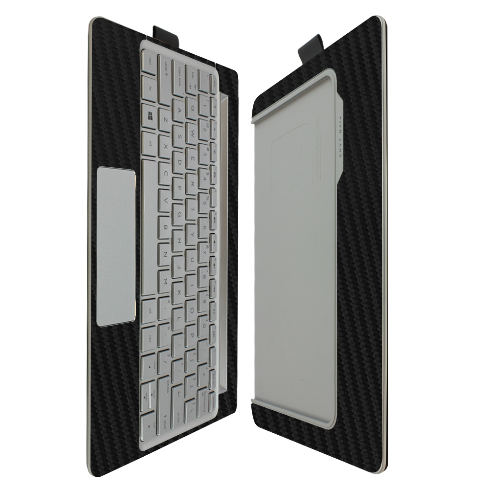 Skinomi Carbon Fiber Skin Protector HP Envy 8 Note Keyboard Only