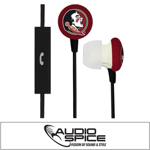 Florida State Seminoles Ignition Earbuds + Mic