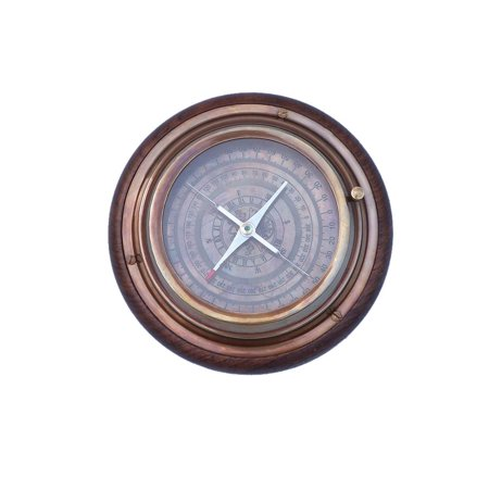 - Antique Brass- Directional Desktop Compass 6
