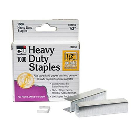 Charles Leonard CHL84050 Extra Heavy Duty Staples .50 Charles Leonard Tape Dispenser
