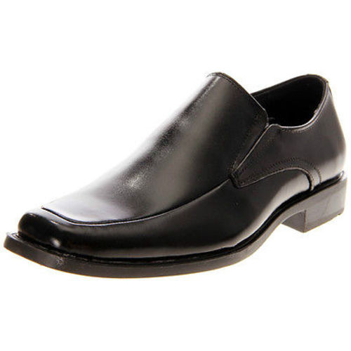 Stacy Adams CASSIDY Mens Black Leather Slip On Comfort Dress Shoe (Wide (E,W),10) by
