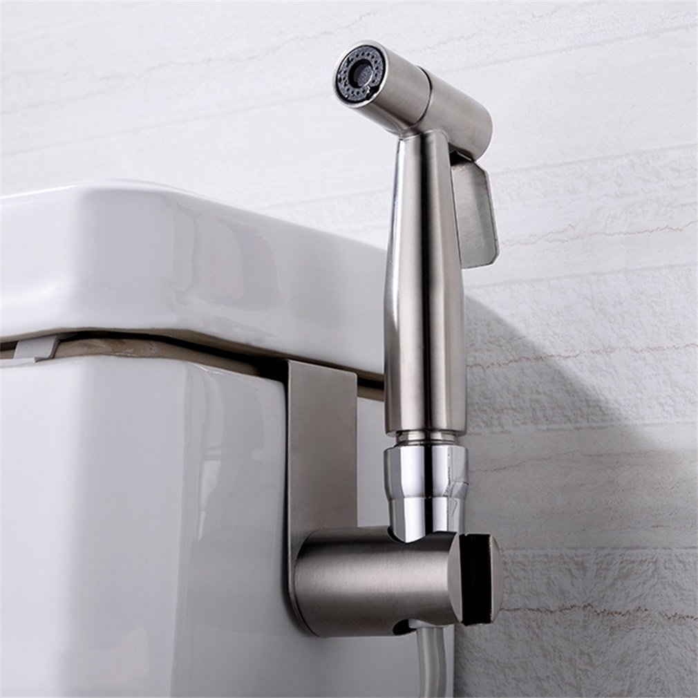 Handheld Portable Bidet Toilet Sprayer Douche And T-Adapter Toilet Washing Set