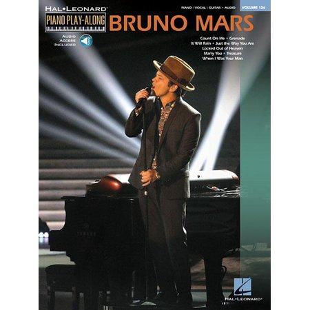 Bruno Mars  Piano Play Along Volume 126  Other