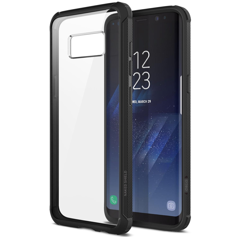 Obliq Naked Shield Samsung Galaxy S7 Case - Black