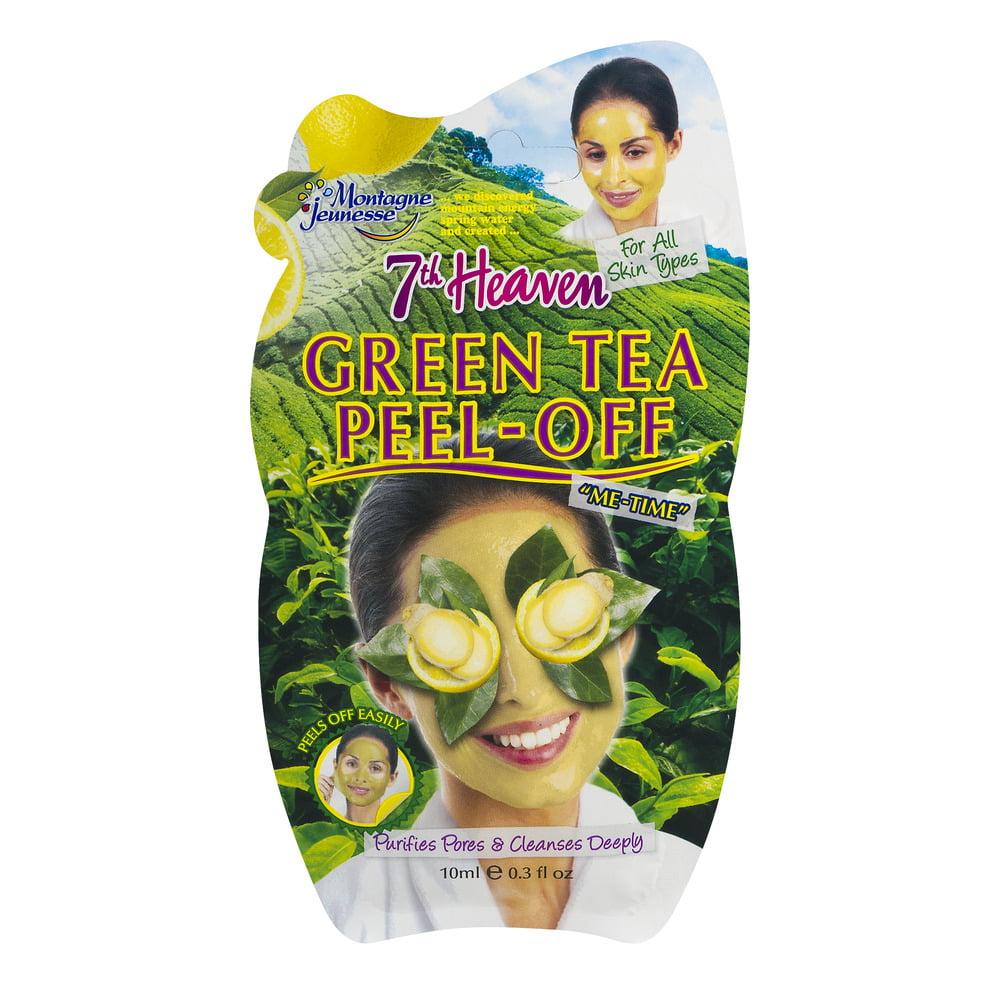 7th Heaven Green Tea Peel-Off Face Mask, 0.3 fl. oz.