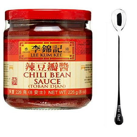 Chili Bean Dip (One NineChef Spoon + Lee Kum Kee Sauce (Chili Bean Sauce (????) 1 Bottle))