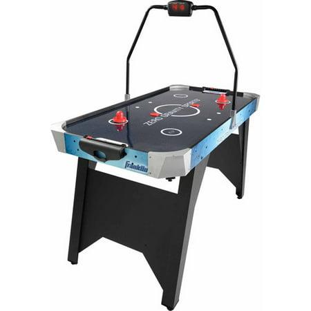Franklin sports arcade air hockey table with led scoring 54 x 27 x 30 - Tournament air hockey table ...