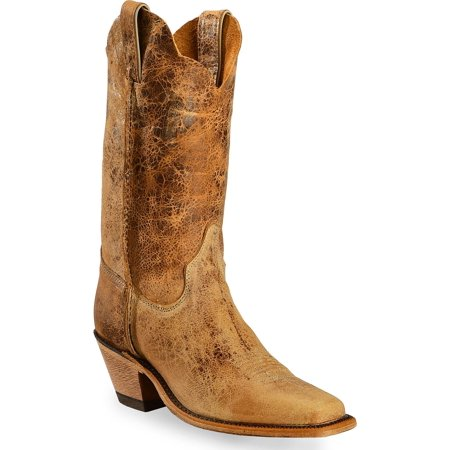 5e59d4fef40 Justin - Justin Women's Bent Rail Crackle Cowgirl Boot Square Toe ...