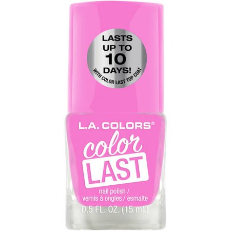 L.A. Colors Color Last Nail Polish, Forever (La Splash Nail Polish)