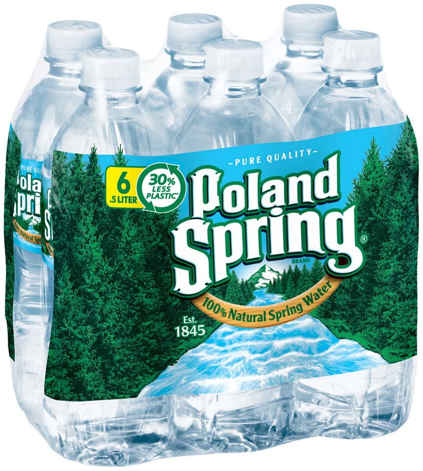 Poland Spring Water 6pk 16.9oz