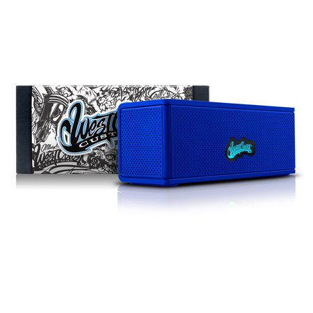 West Coast Customs Portable Wireless Bluetooth Speaker. Bulit-in Speakerphone and 8-Hour Battery