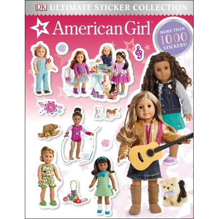 Ultimate Sticker Collection: American Girl (Paperback) (Girls Clipart Collection)