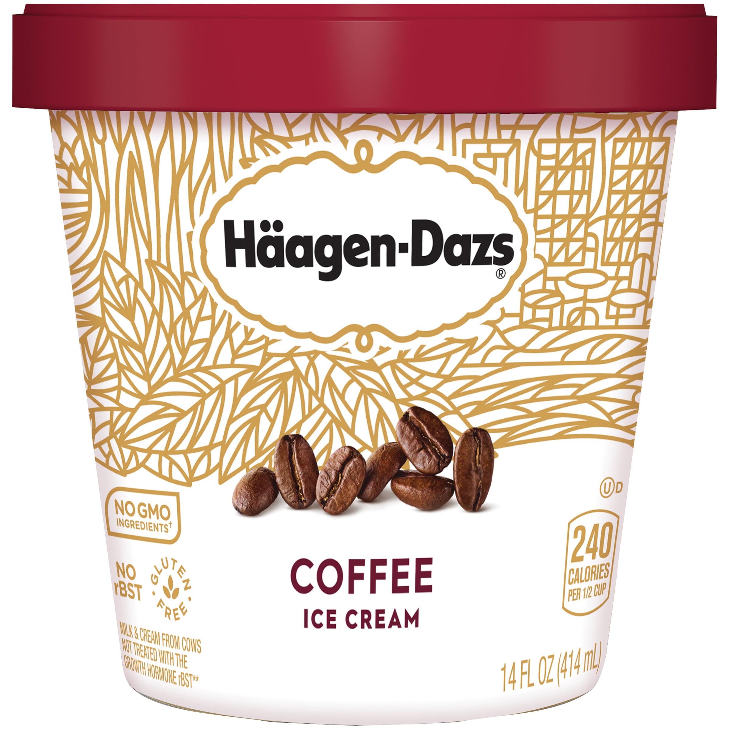 HAAGEN-DAZS Coffee Ice Cream 14 fl. oz. Cup - Walmart.com