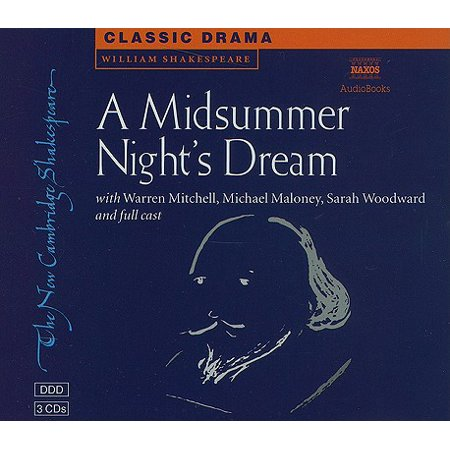 New Cambridge Shakespeare (Naxos Audio): A Midsummer Night's Dream (Audiobook) (New Audio Book)