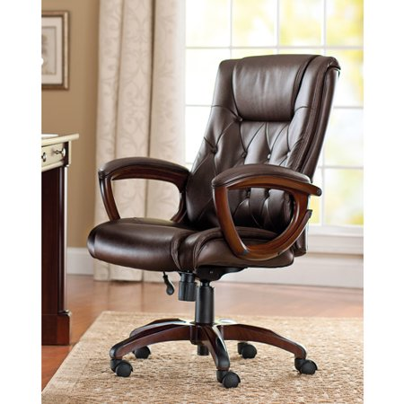Magnificent Better Homes And Gardens Bonded Leather Executive Office Chair Download Free Architecture Designs Sospemadebymaigaardcom