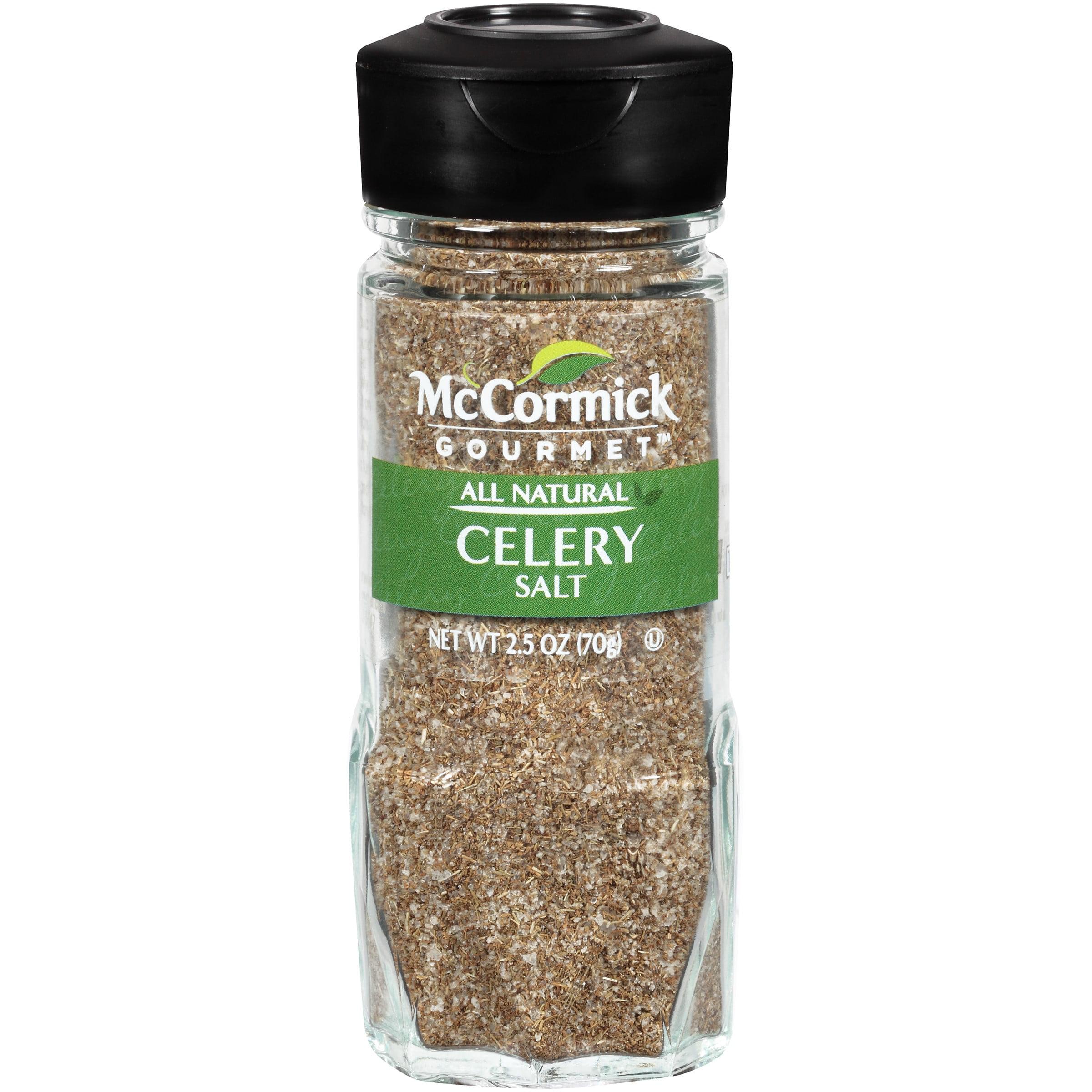 McCormick Gourmet Celery Salt, 2.5 Ounce