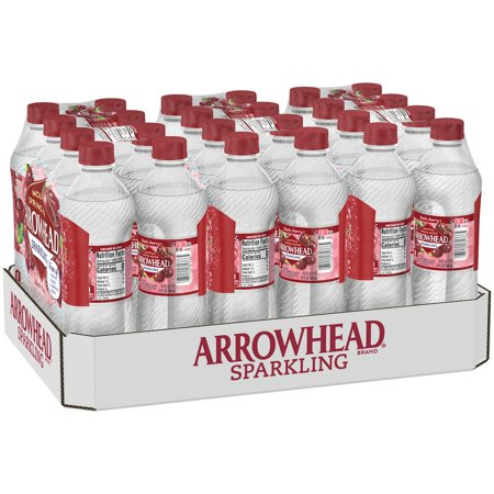 Gladstone Cherry (Arrowhead Sparkling Water, Black Cherry, 16.9 oz. Bottles (Pack of 24))