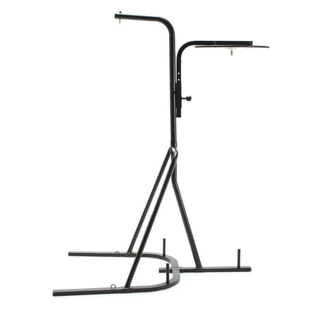 Gold's Gym Dual-Station Heavy Bag Boxing Stand with Steel (Best Boxing Bag Stand)