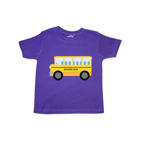 School Bus Toddler T-Shirt (Rose Toddler T-shirt)