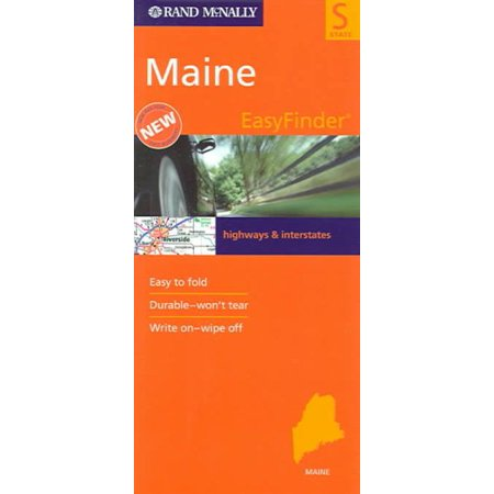 Easy finder map maine - folded map: (Maine Mall Map)