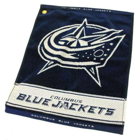 Team Golf NHL Columbus Blue Jackets Jacquard Woven Golf (Jacquard Golf)