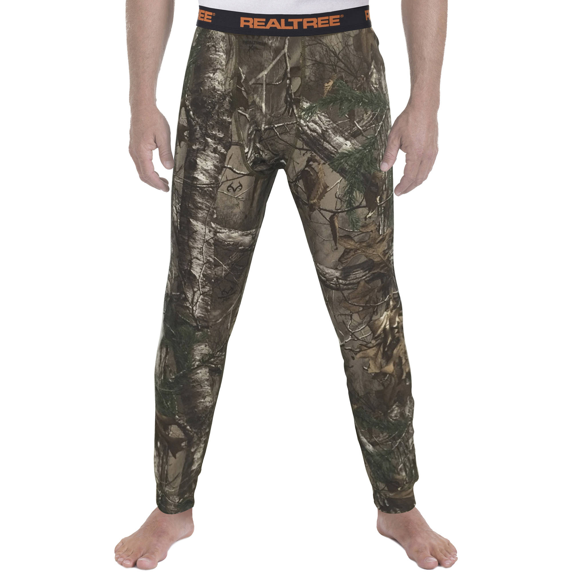 Men's Realtree Base Layer Thermal Bottom - Walmart.com