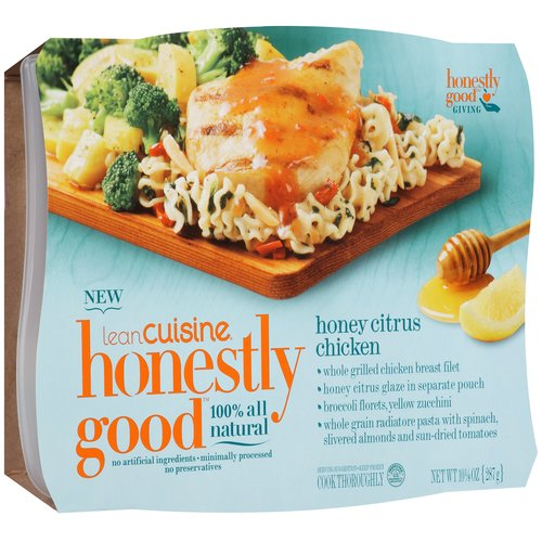 Lean Cuisine Honestly Good Honey Citrus Chicken, 10.125 oz