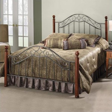 Hillsdale Furniture Martino Metal Panel Bed
