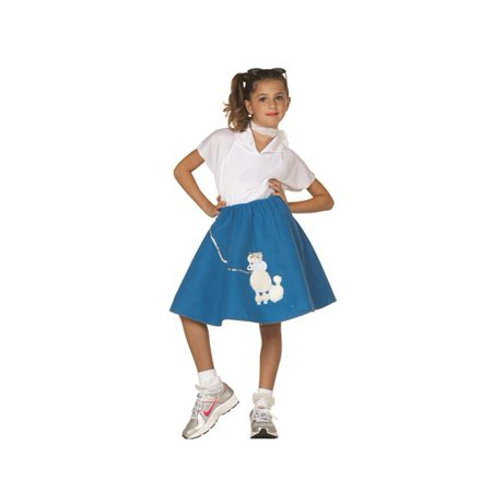 Girls Three Piece Poodle Costume