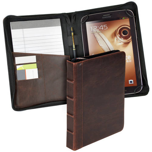 """7"""" Universal Book Tablet Case, Brown"""