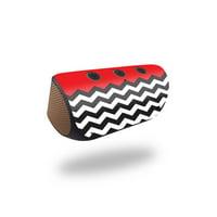 Skin Decal for Logitech X300 Wireless Speaker sticker Aqua Chevron