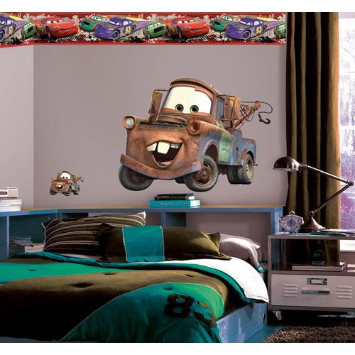 Wallhogs Disney Cars 2 Mater Room Makeover Wall Decal