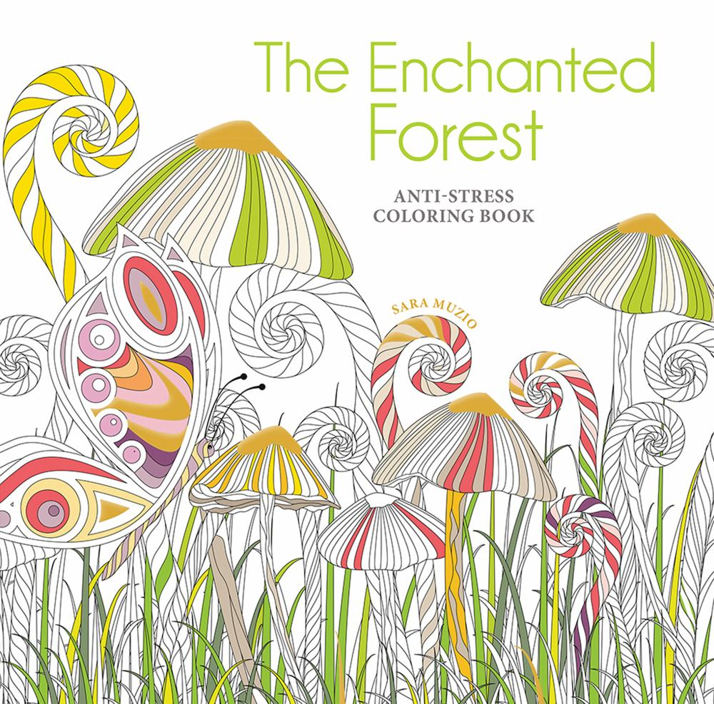 The Enchanted Forest Coloring Book: Anti-Stress Coloring Book - Walmart.com  - Walmart.com