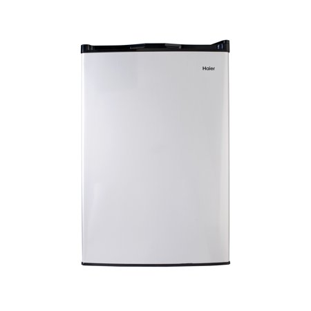 Haier 4.5 cu ft Compact Refrigerator, Virtual Steel