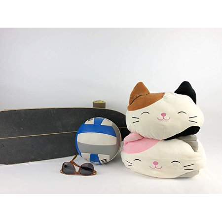 """Kellytoy Squishmallow Karina The Pink Calico Cat 12"""" Stackable Soft Plush - image 1 de 2"""