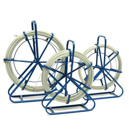 Fish Tape Fiberglass Wire Cable Running Rodder Fishtape Puller Electrical Plumber