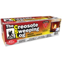 Creosote Sweeping Log For Fireplaces,1 Pack