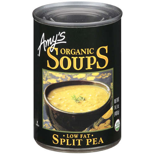 Amy's: Organic Low Fat Split Pea Soup, 14.1 Oz