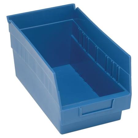 Quantum Storage System Store More(TM) Plastic Shelf Bins (QSB202-BLUE) - image 1 of 1