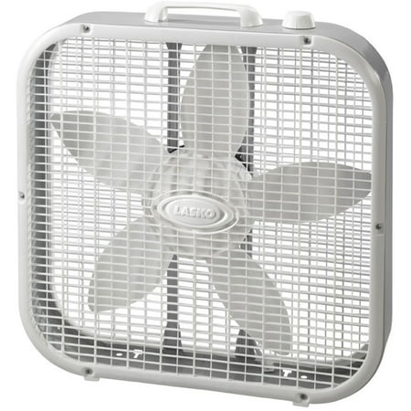 "Lasko Slim 20"" Box Fan with Save Smart"