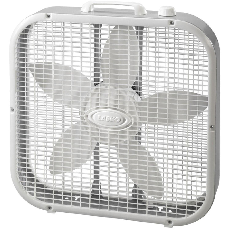 "Lasko Slim 20"" Box Fan with Save Smart"