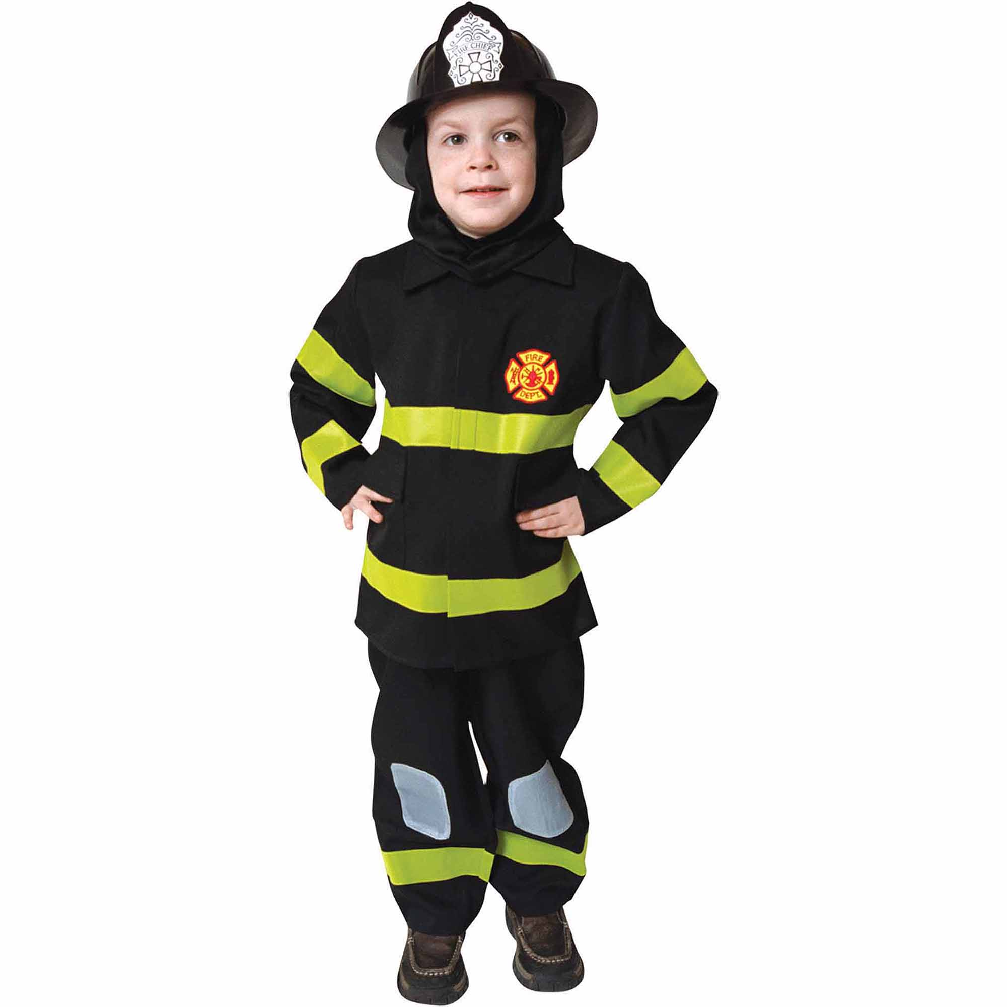 Fire Fighter Child Halloween Costume