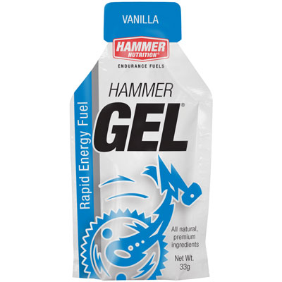 Hammer Nutrition Complex Carbohydrate Energy Gel Vanilla, 24 Pack