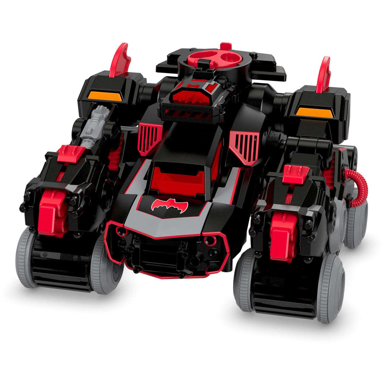 Imaginext Dc Super Friends Rc Transforming Batbot Walmart Com
