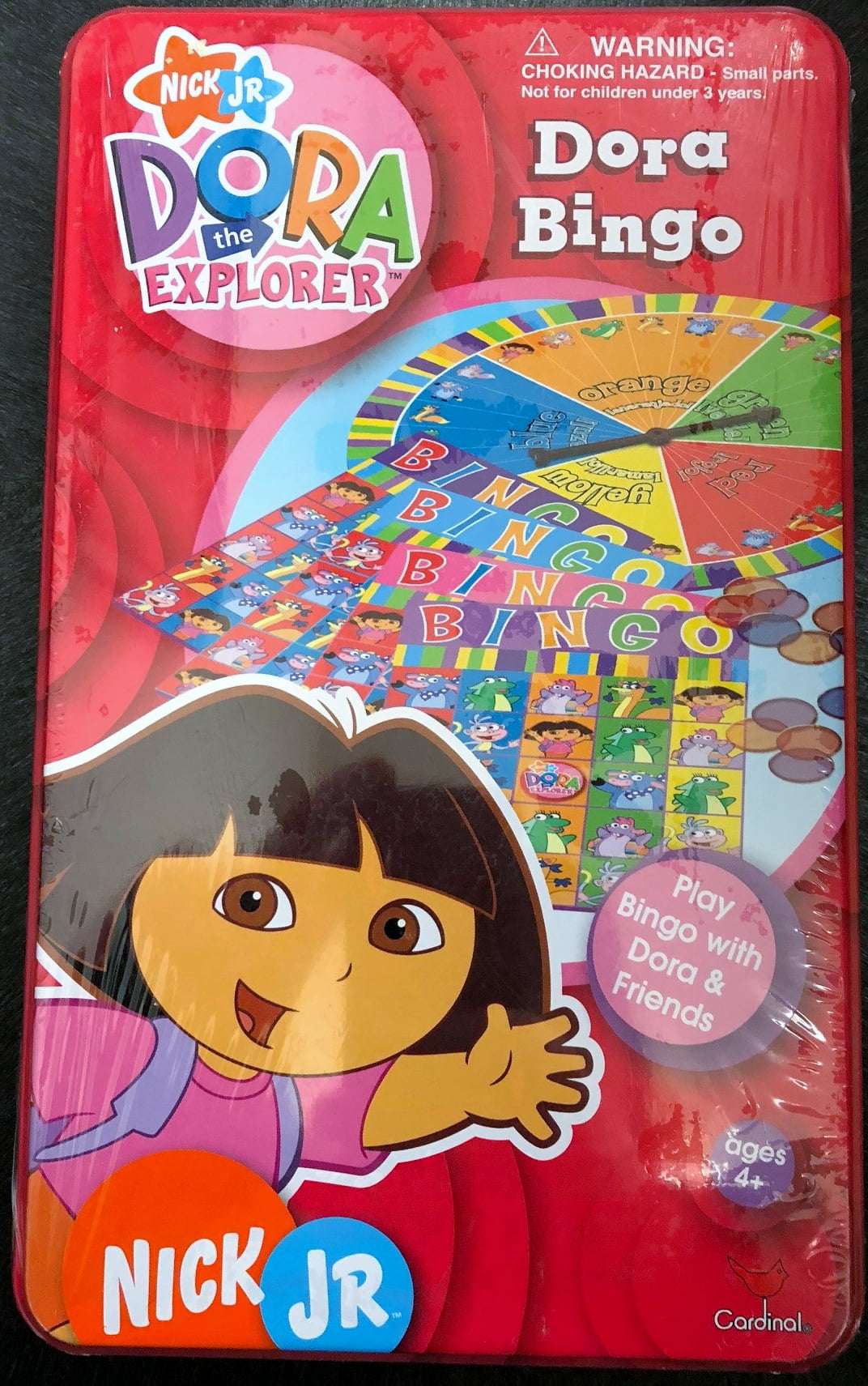 Dora the Explorer Bingo in Tin by Cardinal