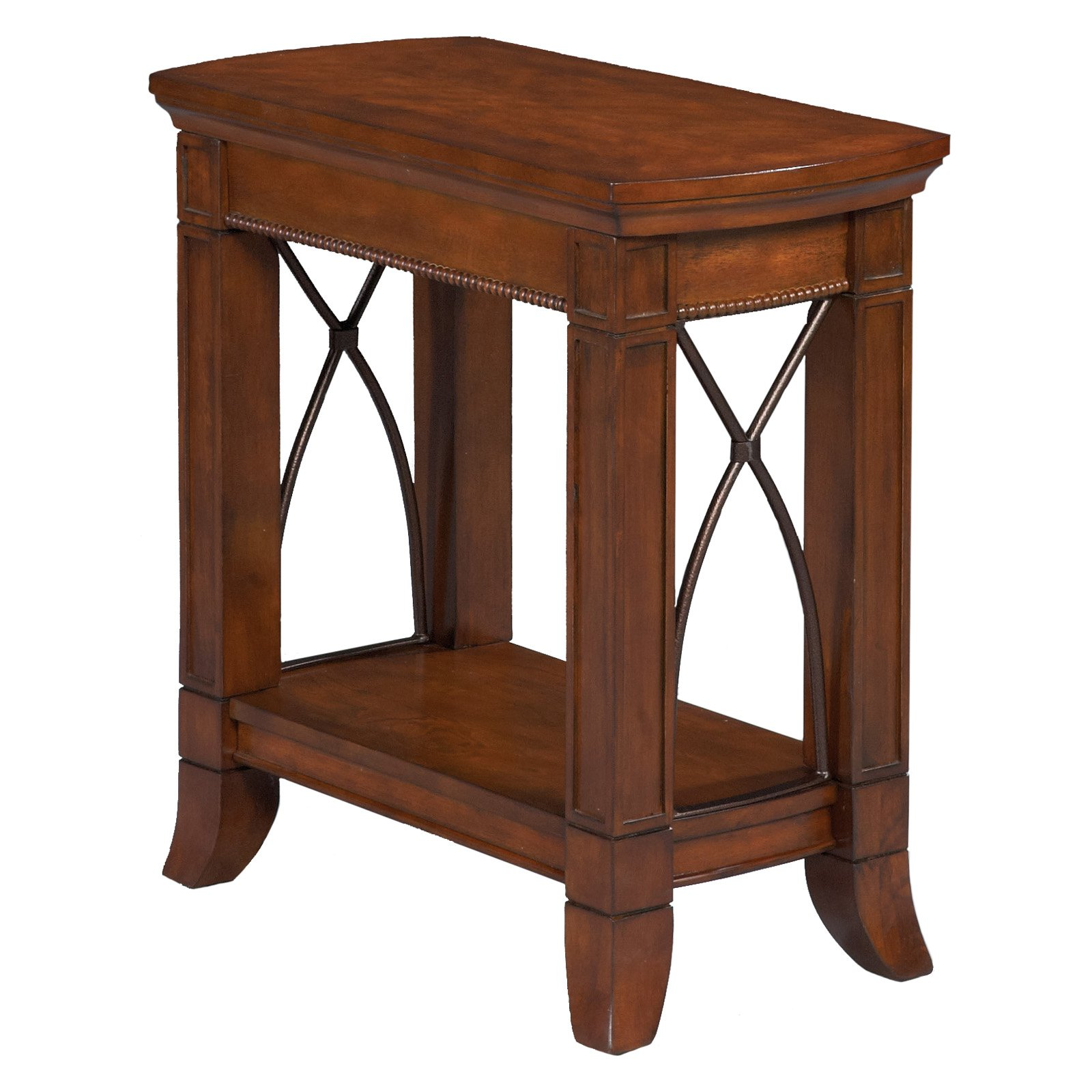 Bernards Cathedral Cherry Side Table