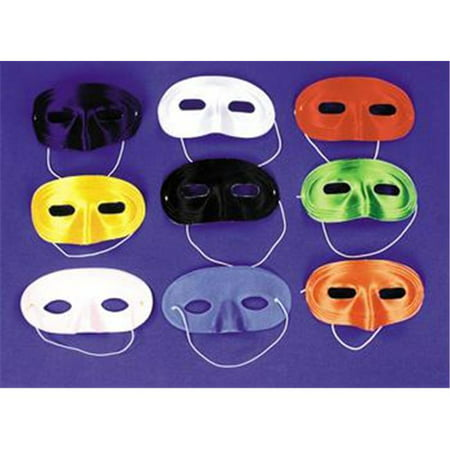 Costumes For All Occasions Ti01Wt Half Mask Satin White](White Mask For Sale)