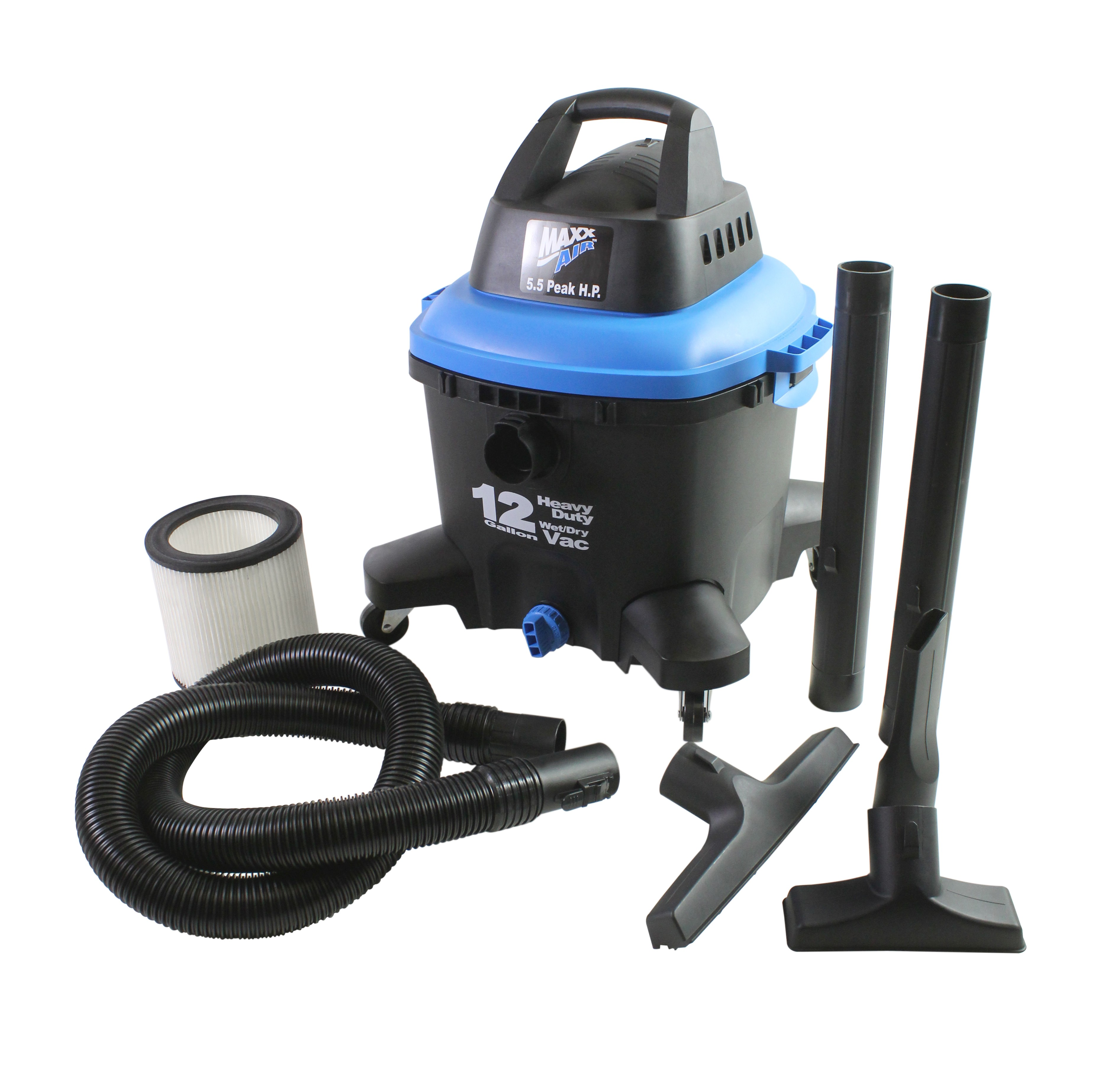 MaxxAir 12 Gallon Wet/Dry Vacuum