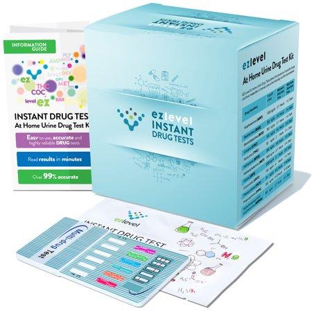 (15 Pack) EZ Level 6 Panel At Home Urine Drug Dip Test Multi-Drug Testing