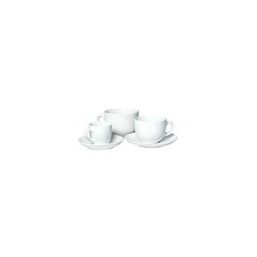Accessories SAUCER    LATTE Single White Saucer - Latte